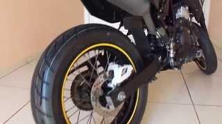 Yamaha xtz 250x Lander Motard Linda sonho realizado