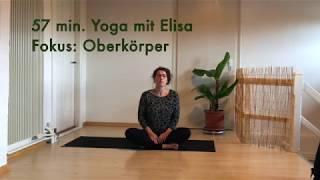 57min yoga Fokus Oberkörper