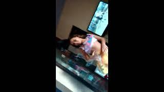 Dançando rebola bola