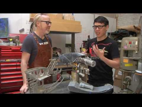 Inside Adam Savage's Cave: The Zorg Industries ZF-1