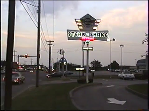 Classic Steak N Shake And Old Route 66 Motels At Springfield Mo