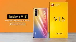 Realme V15 5G - AMOLED | Dimensity 800 - First Look