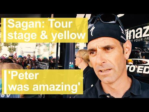 Sagan Tour stage & yellow: 'Peter was amazing'