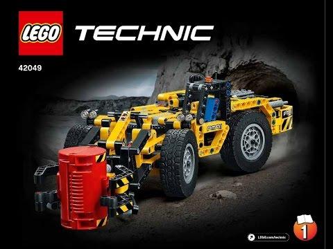 Lego Instructions Technic 42049 Mine Loader Book 1 Youtube
