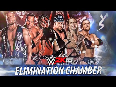 WWE 2K16 - ELIMINATION CHAMBER | Brothers Of Destruction. DX. The Rock. Stone Cold.