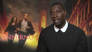 Omar Sy Interview INFERNO - fall into canal during shooting - movie mistakes INTOUCHABLES