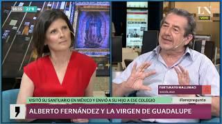 Alberto Fernández y la virgen de Guadalupe: ¿por qué visitó su santuario en México?