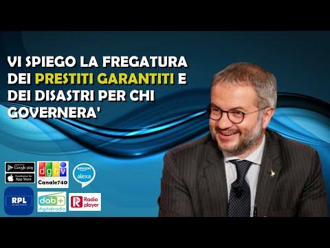 Spiego la fregatura dei Prestiti Garantiti e dei disastri per chi governerà. Claudio Borghi Aquilini