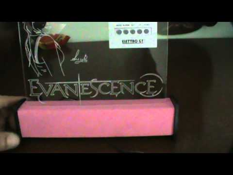 Incisione plexiglass con illuminazione led evanescence.mpg youtube