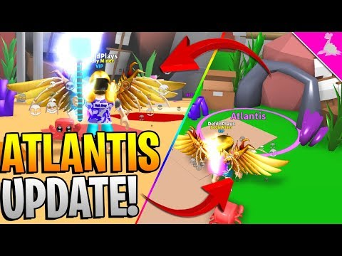 MYTHICAL ATLANTIS UPDATE IN ROBLOX MINING SIMULATOR! *INSANE UPDATE*