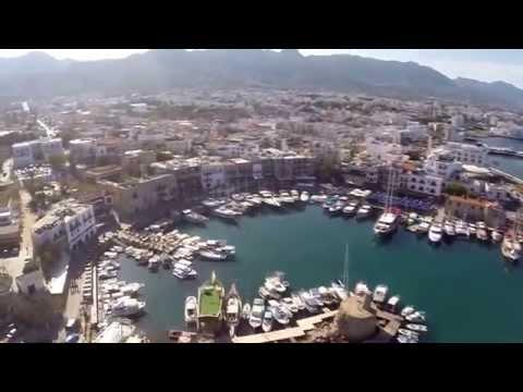 Kyrenia (Girne) Castle - Fly over