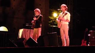 Kings of Convenience - Winning a Battle, Losing the War LIVE @Verucchio Festival 2015