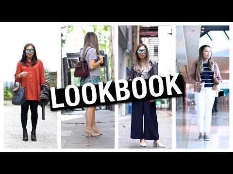 LOOKBOOK - Casual Outfits from Summer to Fall