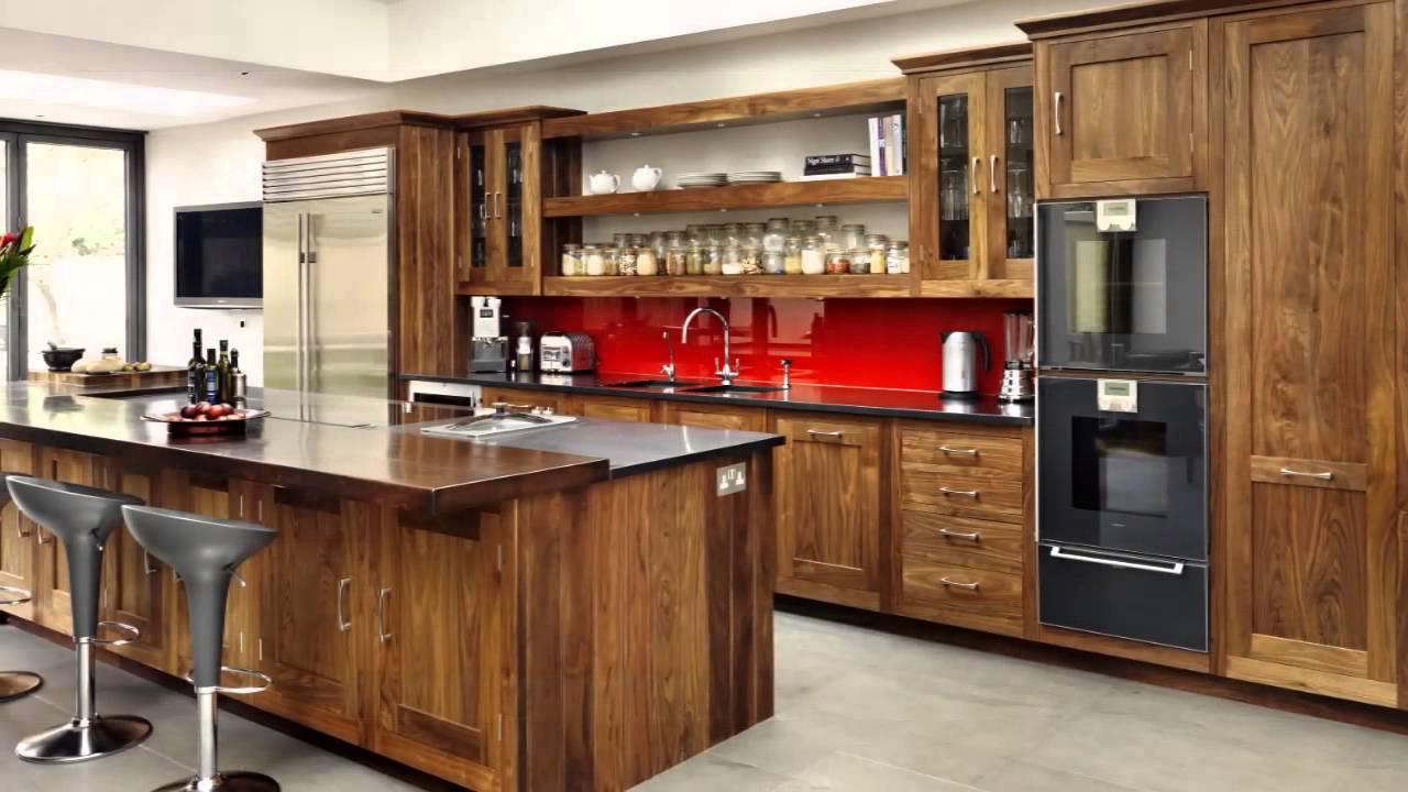 Küchen aus holz - YouTube