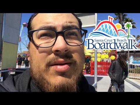 SANTA CRUZ BEACH BOARDWALK!!