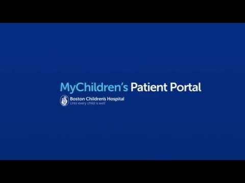MyChildren's Patient Portal - Boston Children's Hospital