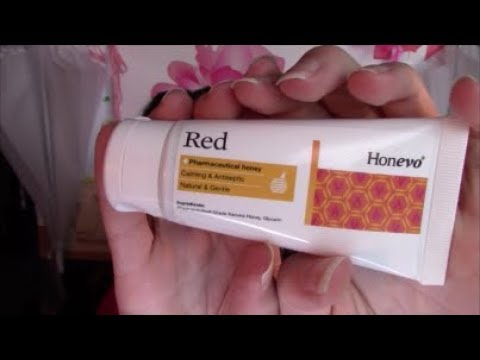Honevo Kanuka Honey Natural Rosacea Treatment Review | Rosy JulieBC
