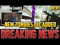 BRAND NEW ZOMBIES DLC CONTENT JUST ADDED - MORE FEATURES AND WEAPONS UNLOCKED! Cold War Zombies