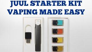 JUUL Starter Kit - Vaping Made Easy - REVIEW
