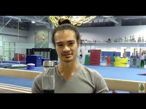 Quyen on how hydrogen water helps him with his American Ninja Warrior training