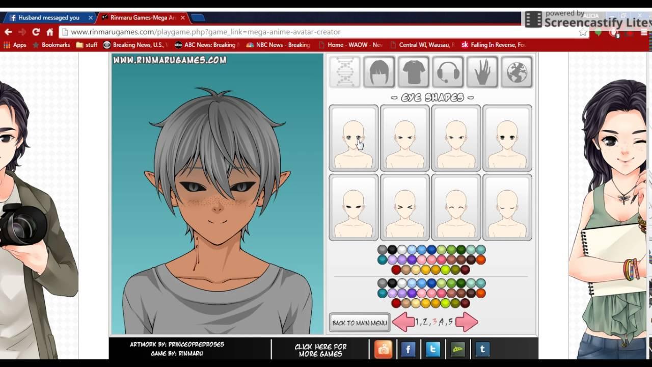Anime Creator Games