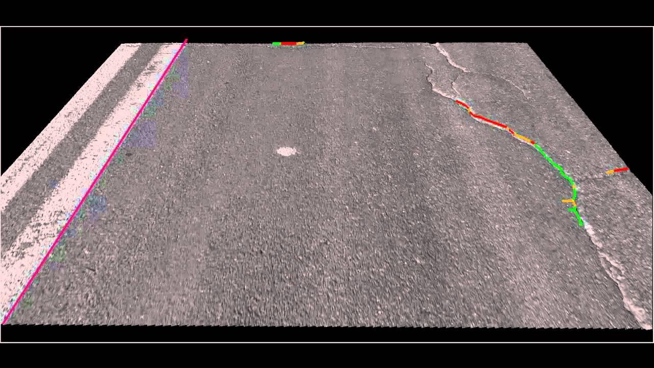 High Speed 3d Imaging Of Roads Runways And Fully Automatic