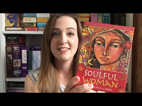 Soulful Woman Guidance Cards Unboxing