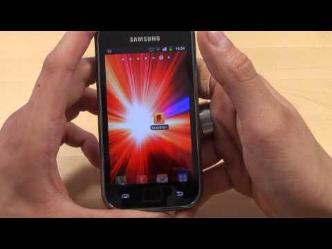 Samsung Galaxy S Plus - Bedienung - Teil 2