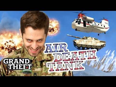 TANK ATTACK FROM ABOVE Grand Theft Smosh Poster