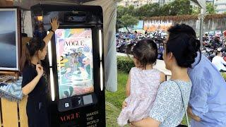 「2020 VOGUE #風格野餐日」 x Picbot「AR智慧拍照機器人」花絮影片