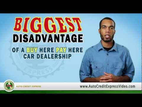Explaining Buy Here Pay Here - Applying for a Bad Credit Auto Loan