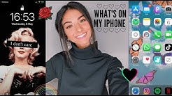 WHAT'S ON MY IPHONE | EM