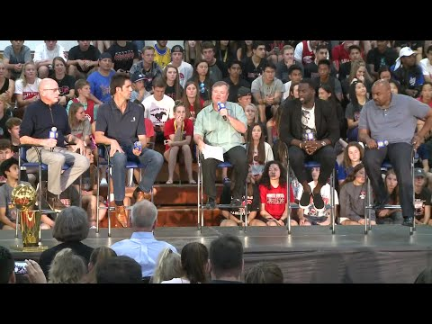 Raw Video: Draymond Green And Bob Myers At Monte Vista High School