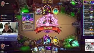 Thijs tests out a new Secret mage (Journey to Un'Goro)
