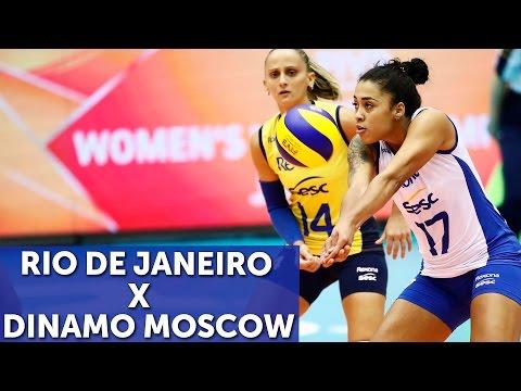 REXONA SESC X DINAMO MOSCOW Mundia de Clubes de Vôlei Feminino