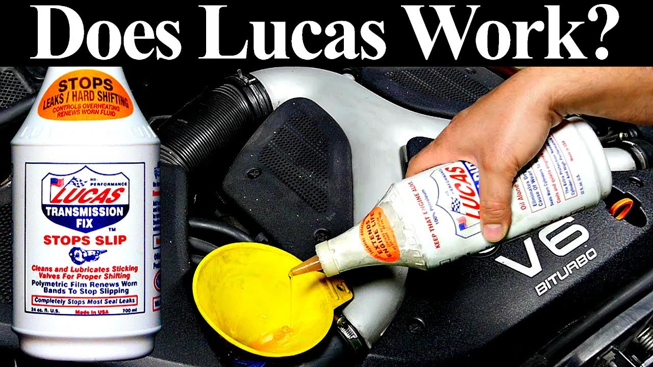 Lets Put Lucas Transmission Fix To The Test - See if it Fixes a Bad  Transmission