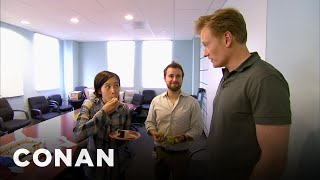 If you're going to start a secret email chain, make sure your boss doesn't find out - especially if your boss is Conan. More CONAN @ http://teamcoco.com/video ...
