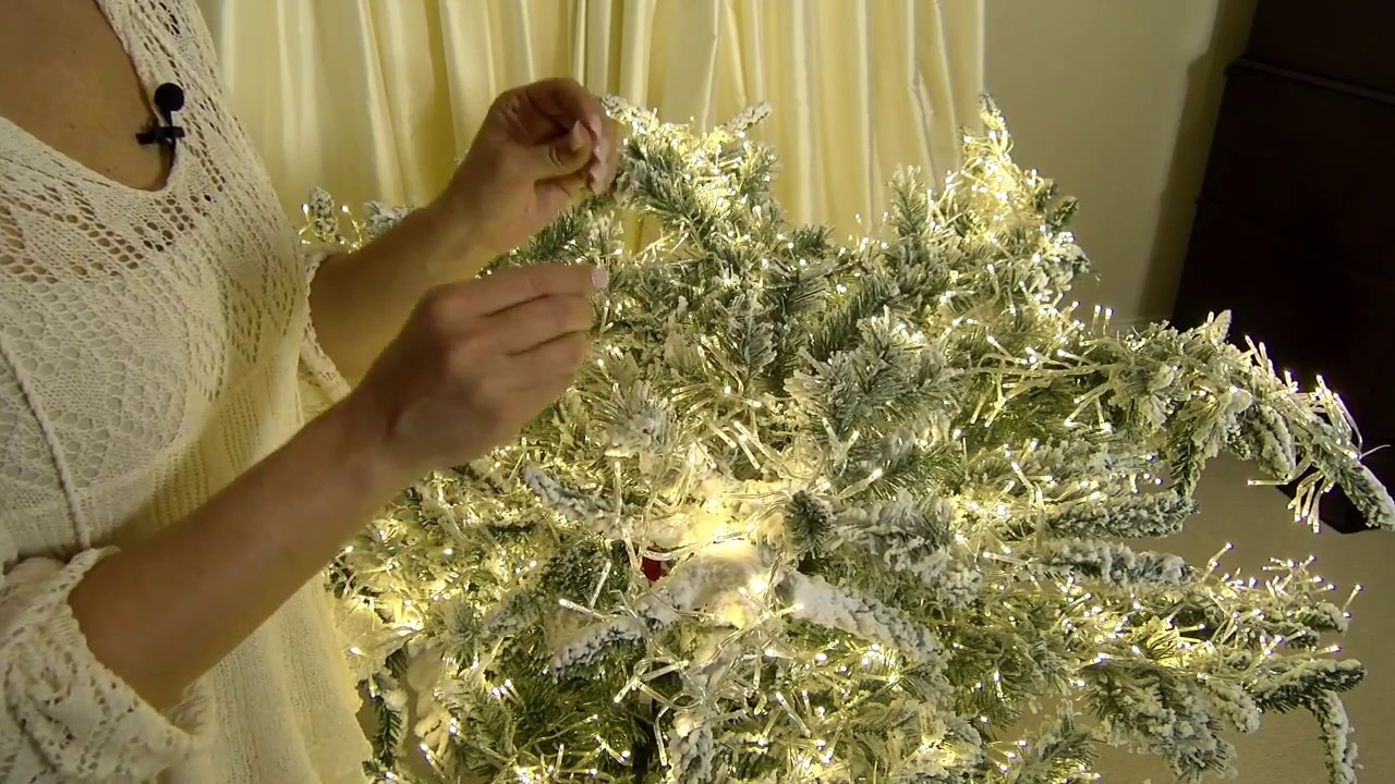 How To Set Up Your Stars In The Sky Christmas Tree