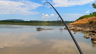 MOMENTOS DE PÂNICO NO RIO DOS MONSTROS... Pescaria.