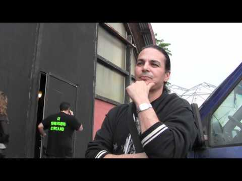 Fred Coury (CINDERELLA) - interview @Linea Rock 2011 by Barbara Caserta