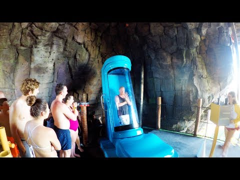[4K] Kala & Tai Nui Serpentine Body Slides - Volcano Bay Orlando, FL