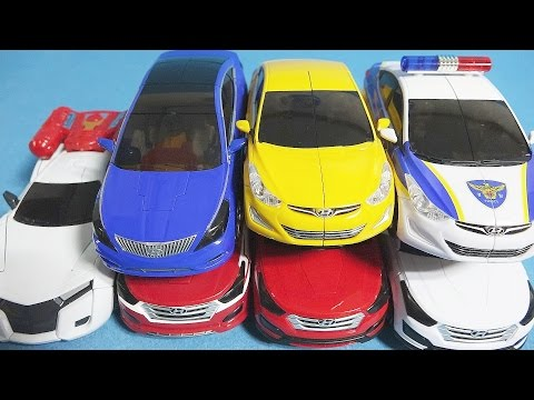 헬로카봇 또봇 7대 카 변신 7 CarBot Tobot transforming robot car toys by ToyPudding 토이푸딩