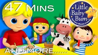Learn with Little Baby Bum | Georgie and Porgie | Nursery Rhymes for Babies | Songs for Kids