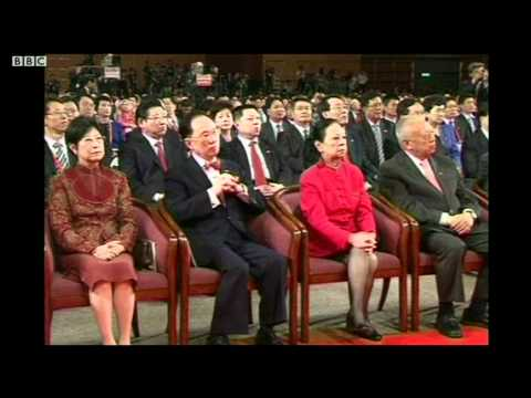 "BBC中文网视频:胡锦涛演说遭喊话""平反六四"""