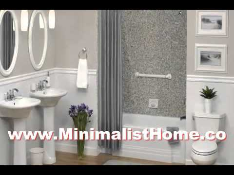 Ideas Small Gray Bathrooms On A Budget
