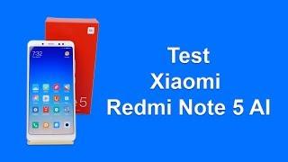 Xiaomi Redmi Note 5 AI Dual Camera Présentation et test en français