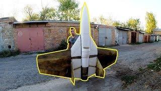 Jet Funjet - постройка самолета на самодельном ТРД