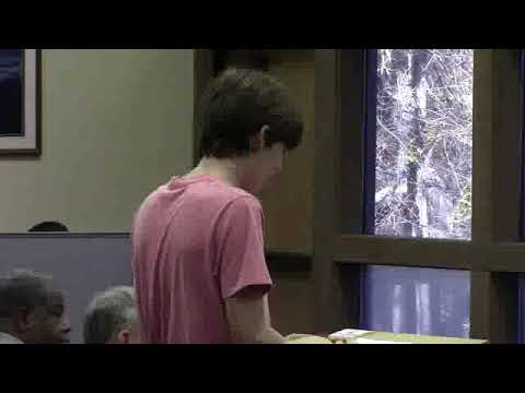 Adults in charge: do not grant Nestle permit --Isaac Augspurg, age 14