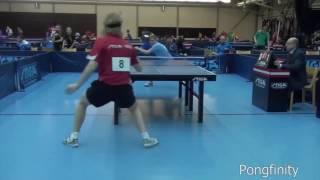 Потрясающие пинг-понг трюки/Awesome ping pong tricks