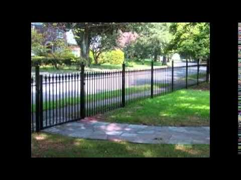 Front Garden Fencing Ideas - YouTube